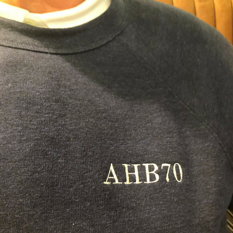 Monogrammed Sweatshirt for Dads, Grandpas and Uncles!