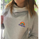 #staypositive cowl neck hoodie with NHS donation