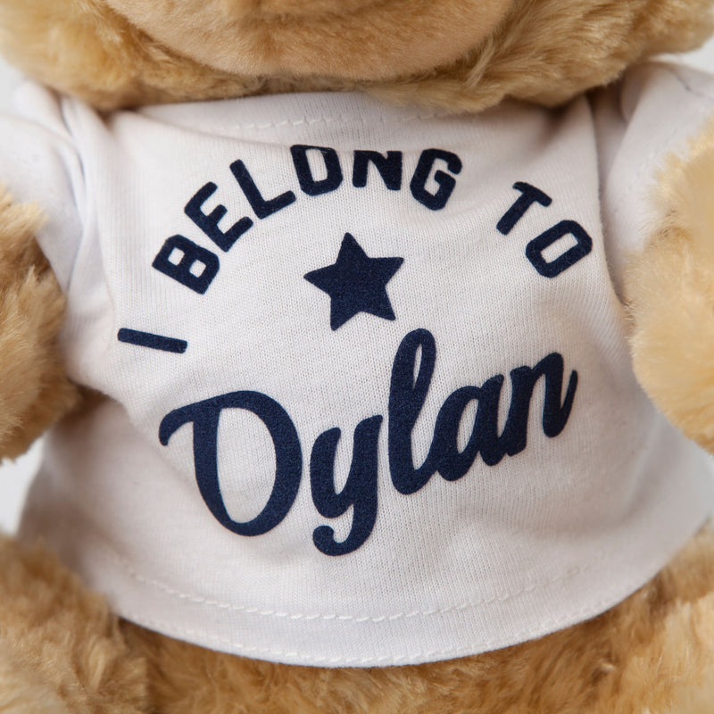 personalised teddy tshirt