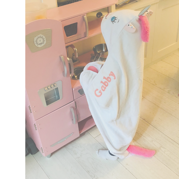 Personalised Unicorn Towel