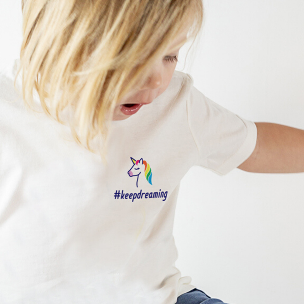 #keepdreaming Unicorn T-Shirt with NHS donation