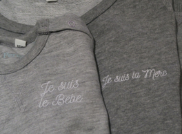 Je Suis Mama Sweatshirt for Mothers