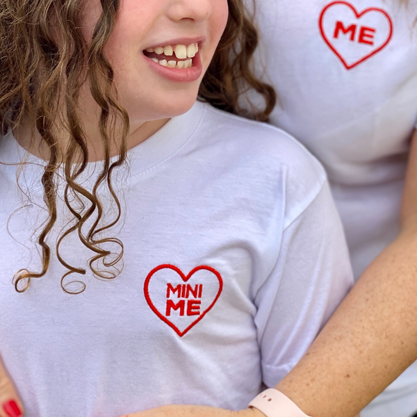 Red Heart 'Mini-Me' Embroidered T-Shirt Age 3+