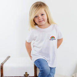 Kids #staypositive T-Shirt with NHS donation 3-14 years