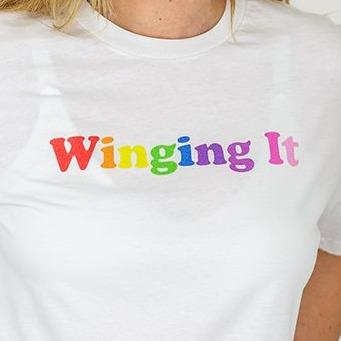 Winging It Organic Cotton T-Shirt