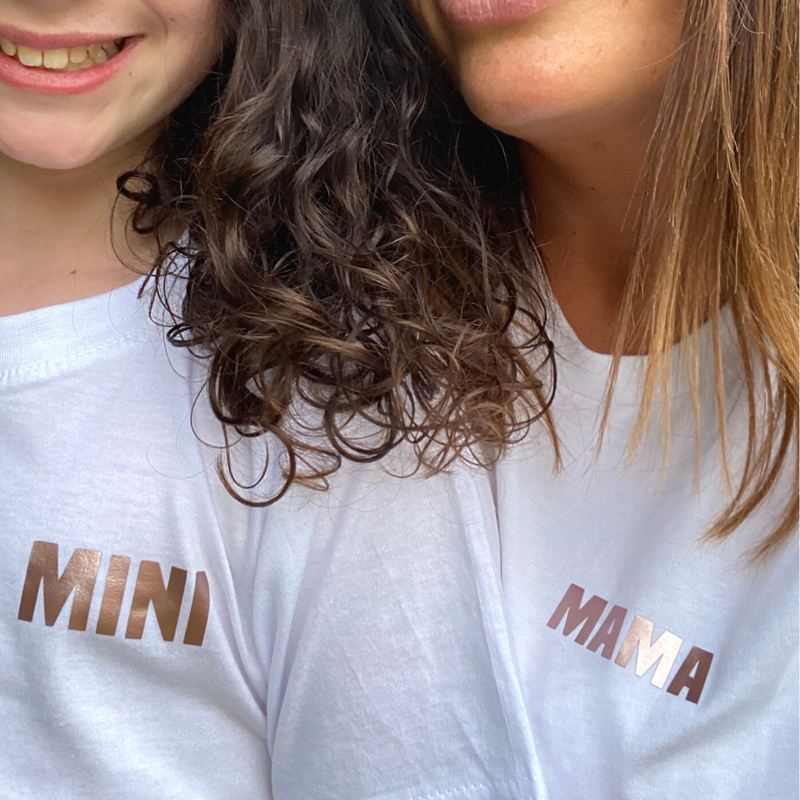 Rose Gold 'Mama' T-Shirt for Mummies