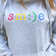 Rainbow Smile Embroidered Cowl Neck Hoodie