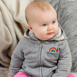 #staypositive baby and kids hoodie with NHS donation