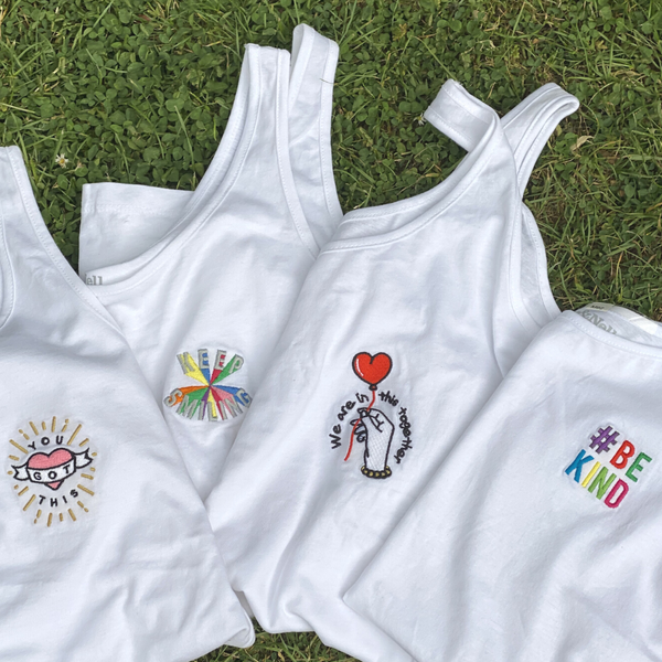 Hand and Heart 100% Organic Cotton Vest