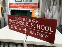 Fri. April 6th 6:30pm-City & State Small Sign Class $30-35