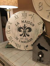 Sat. April 7th-French Faux Clock Class-$60-$65