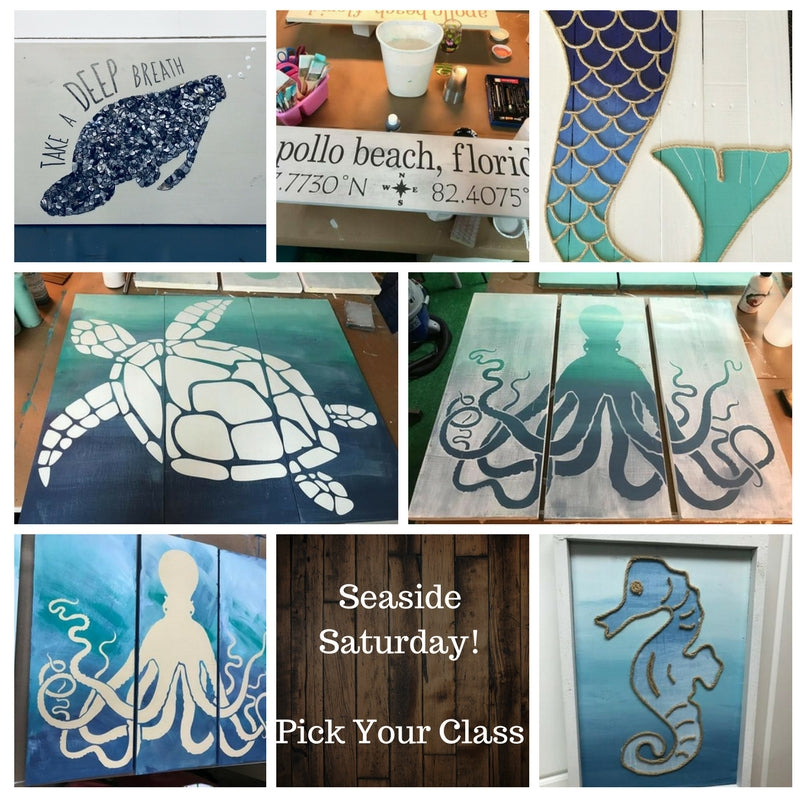 Fri. March 23rd-Seaside Friday PICK YOUR CLASS $35-65