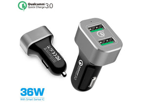 Car Charger USB Fast QuickCharge Qualcomm