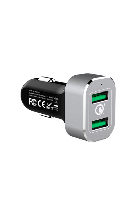 Car Charger Qualcomm QC 3.0x2 (36 Watts)