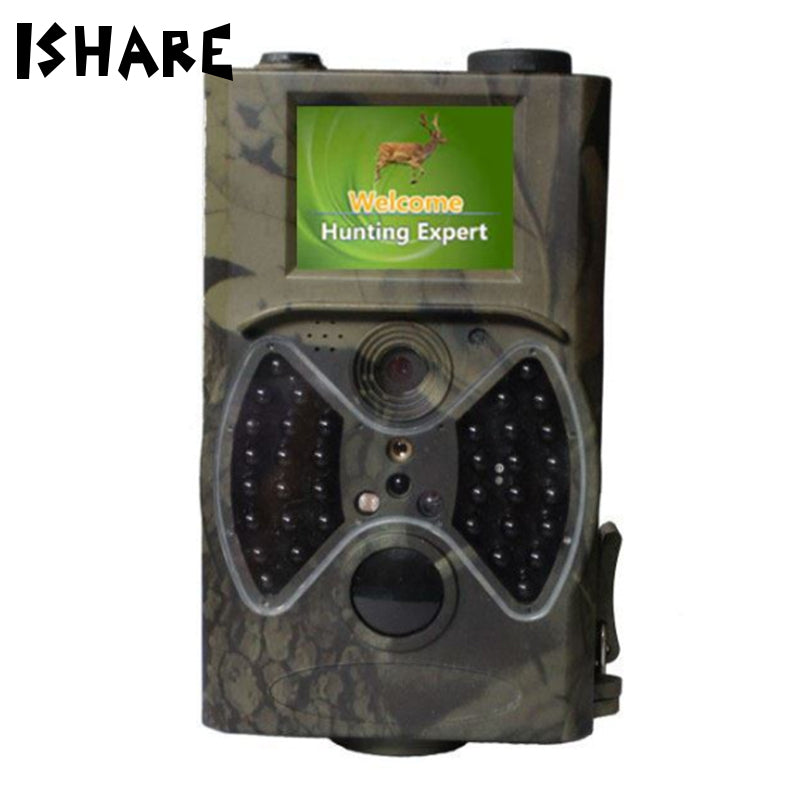 Night Vision HD Delayed Continuous Shooting Field Deer Hunting Video Cameras Wildlife 36 IR LED Infrared 1080P IP54 Trail Camera