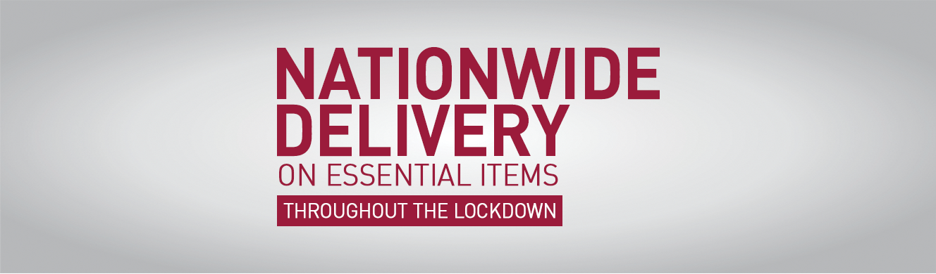 Nationwide Delivery on Essential Items