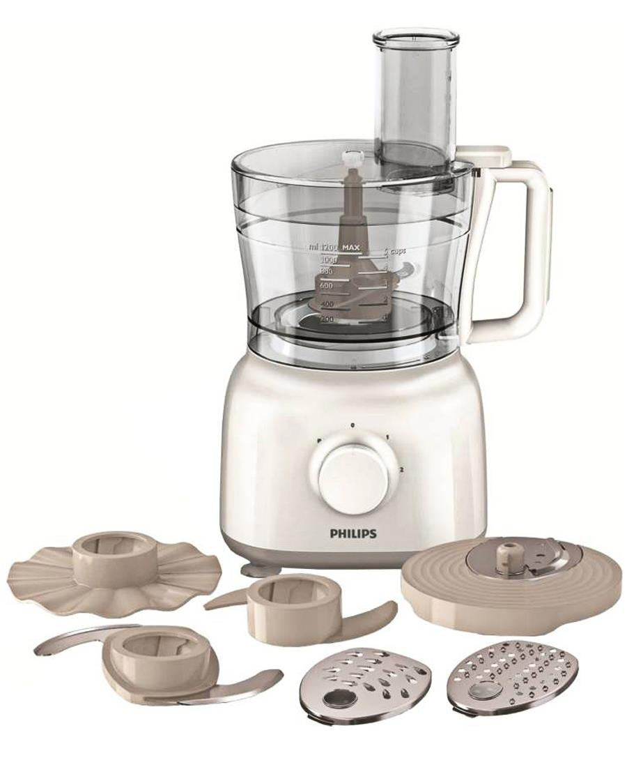 Philips 650W Food Processor - White