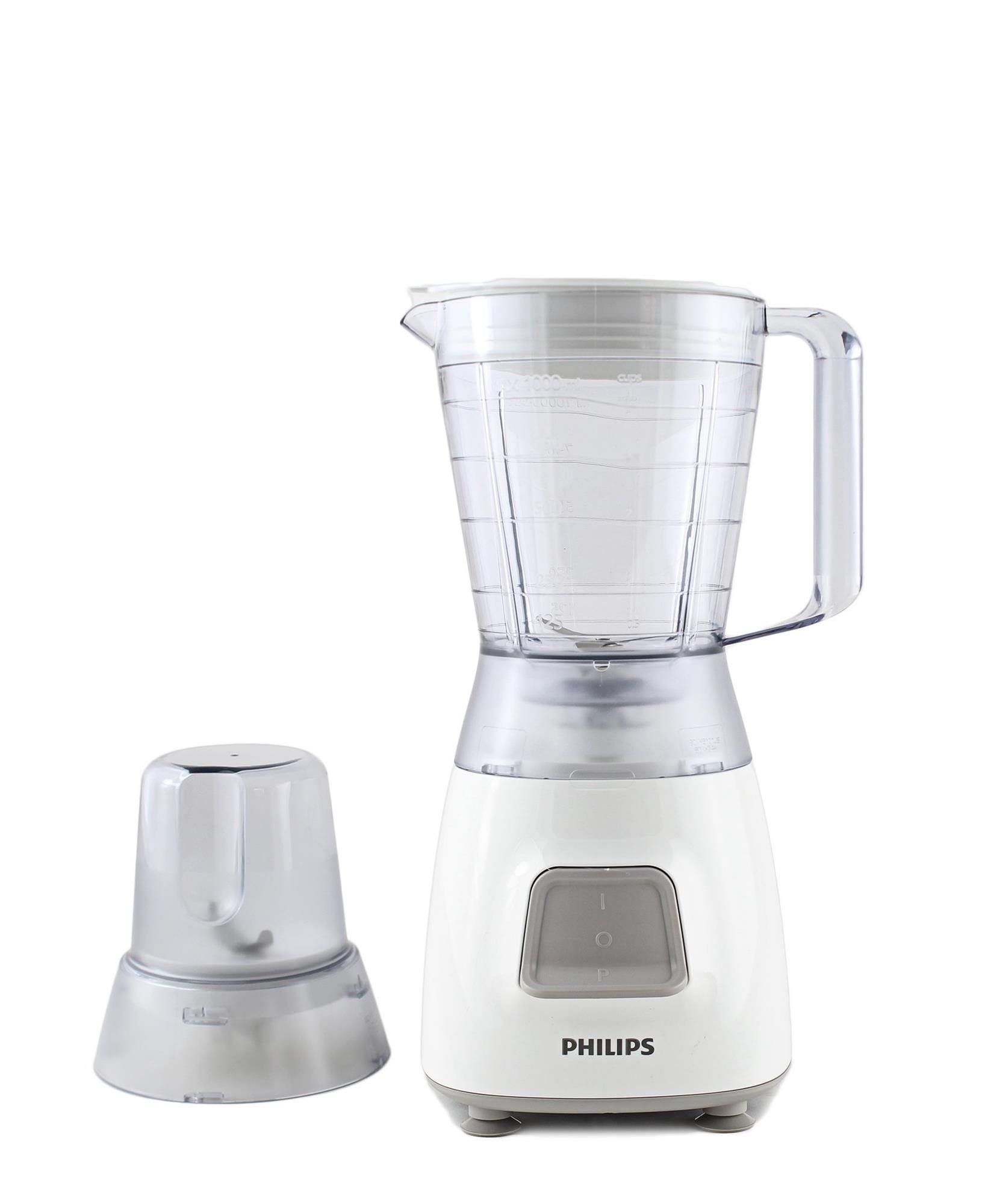 Philips Blender With Mill - White