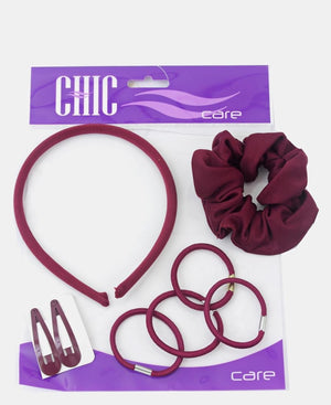 Uniform Hair Accessories - Maroon