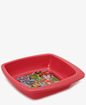 Paw Patrol Square Bowl - Red