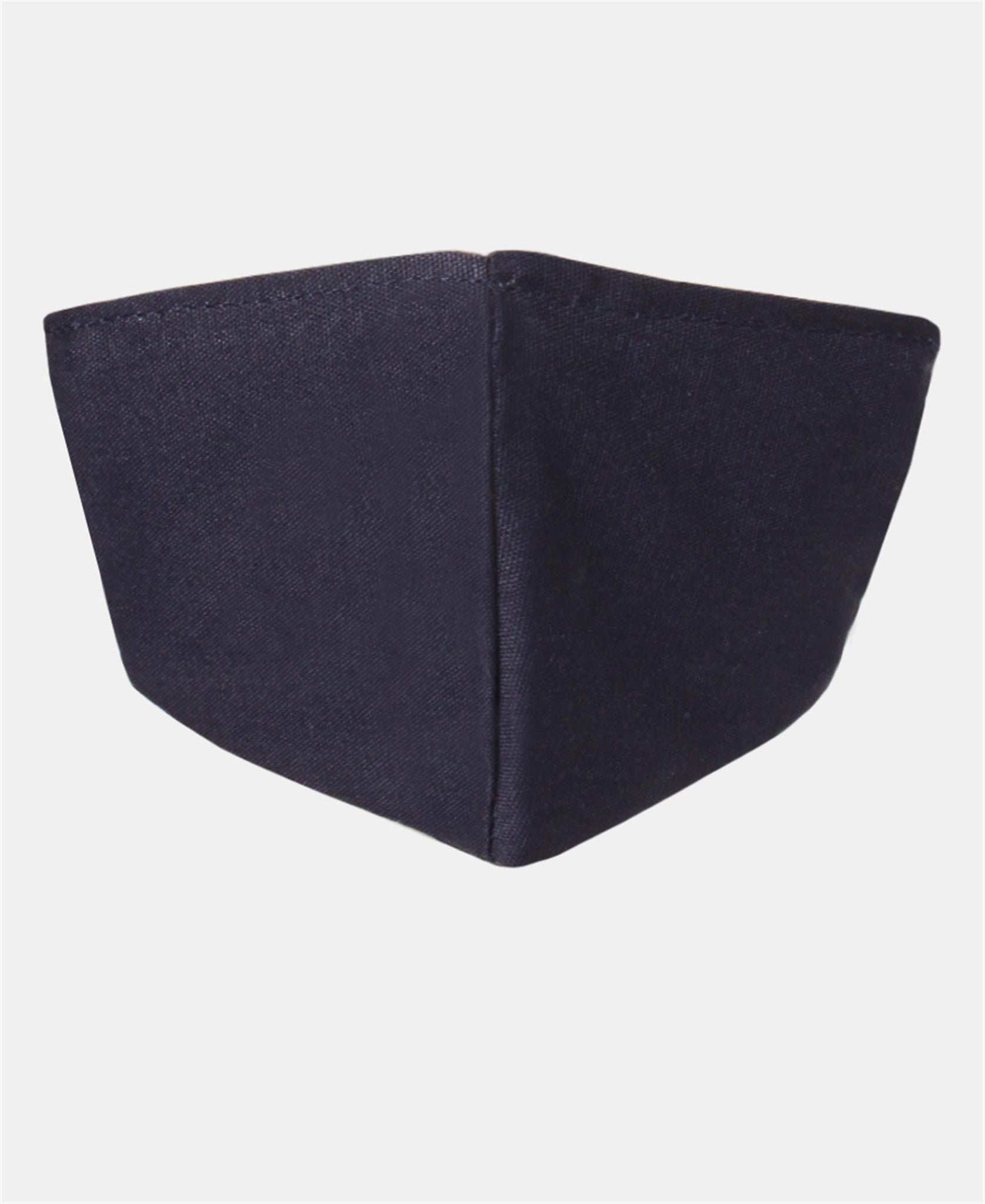 Kids 3 Pack 2 Ply Cotton Masks - Navy