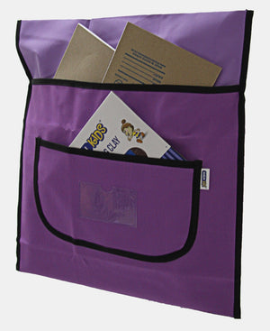 Marlin Polyester Chairbag - Purple