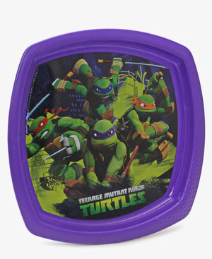 Tmnt Fighters Square Plate - Purple