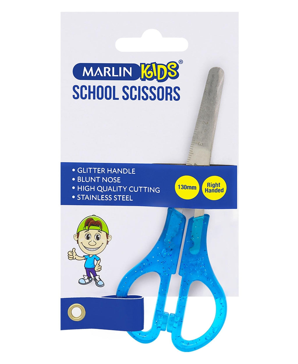 Marlin 130MM Scissors - Blue