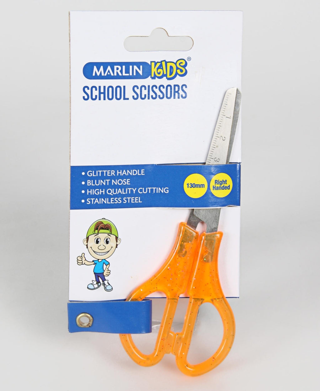 Marlin 130MM Scissors - Orange