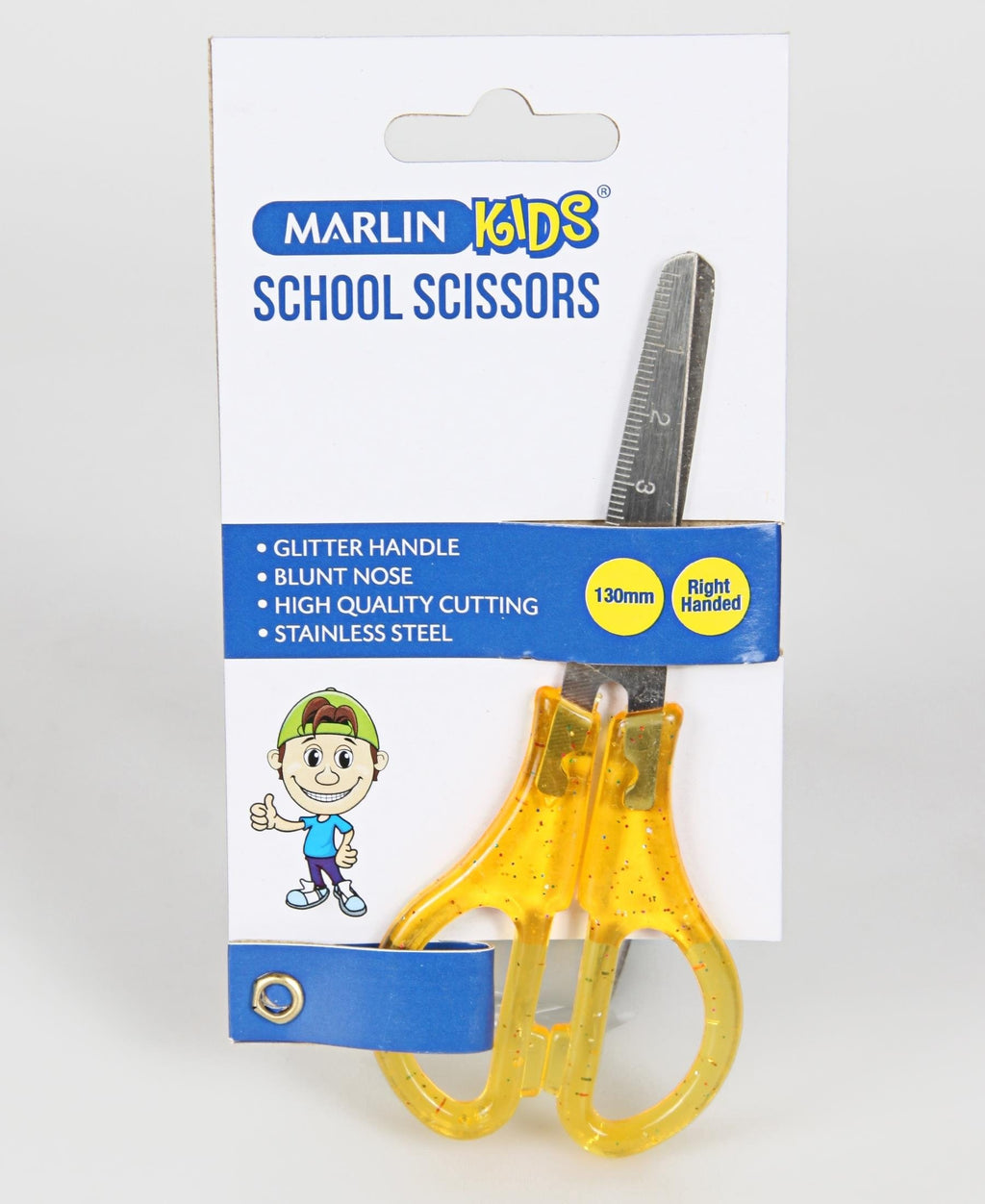 Marlin 130MM Scissors - Yellow