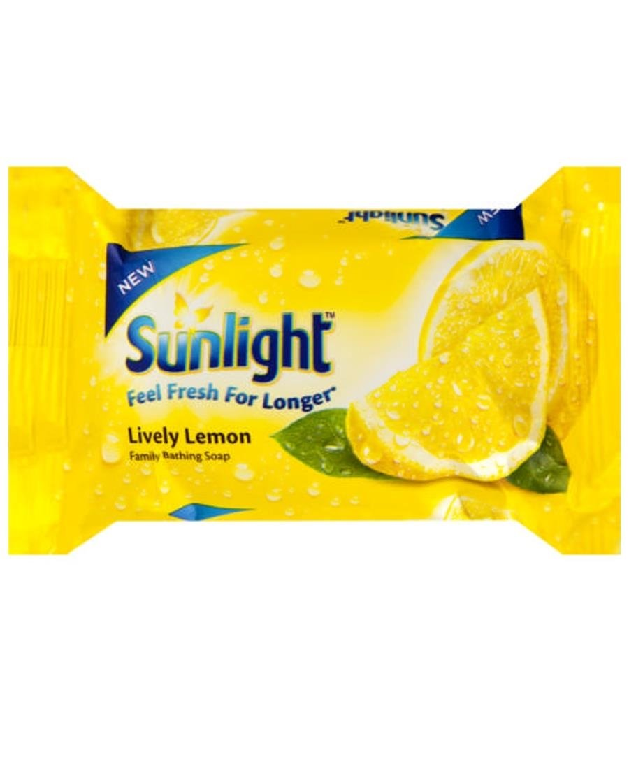 Sunlight Soap Lemon 175g - Yellow