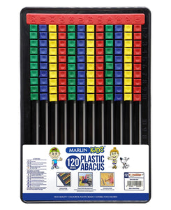 Marlin 120 Beads Kids Plastic Abacus - Multi