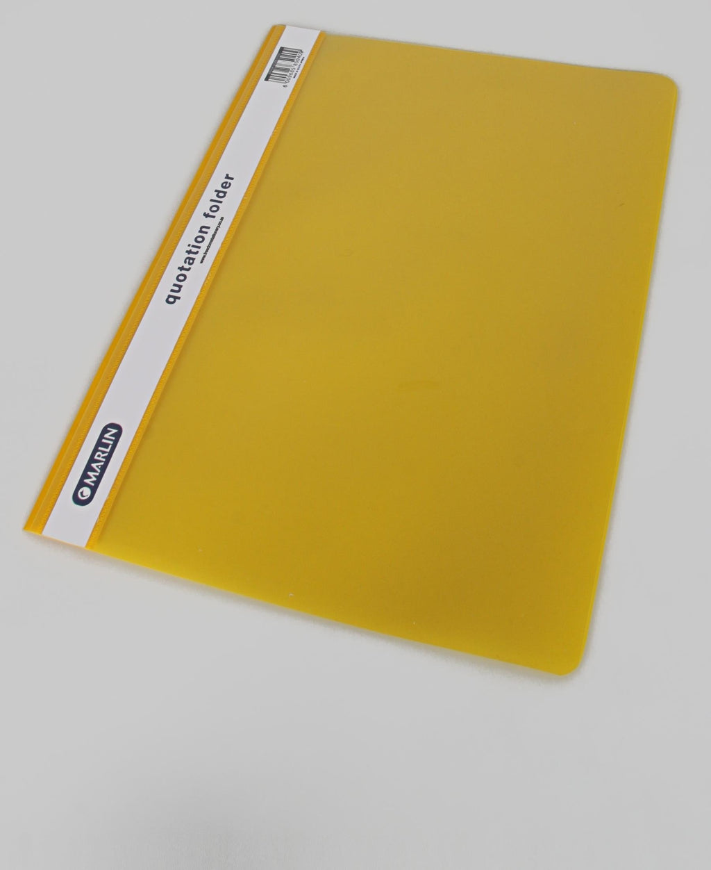 Marlin Quotation Folder - Yellow