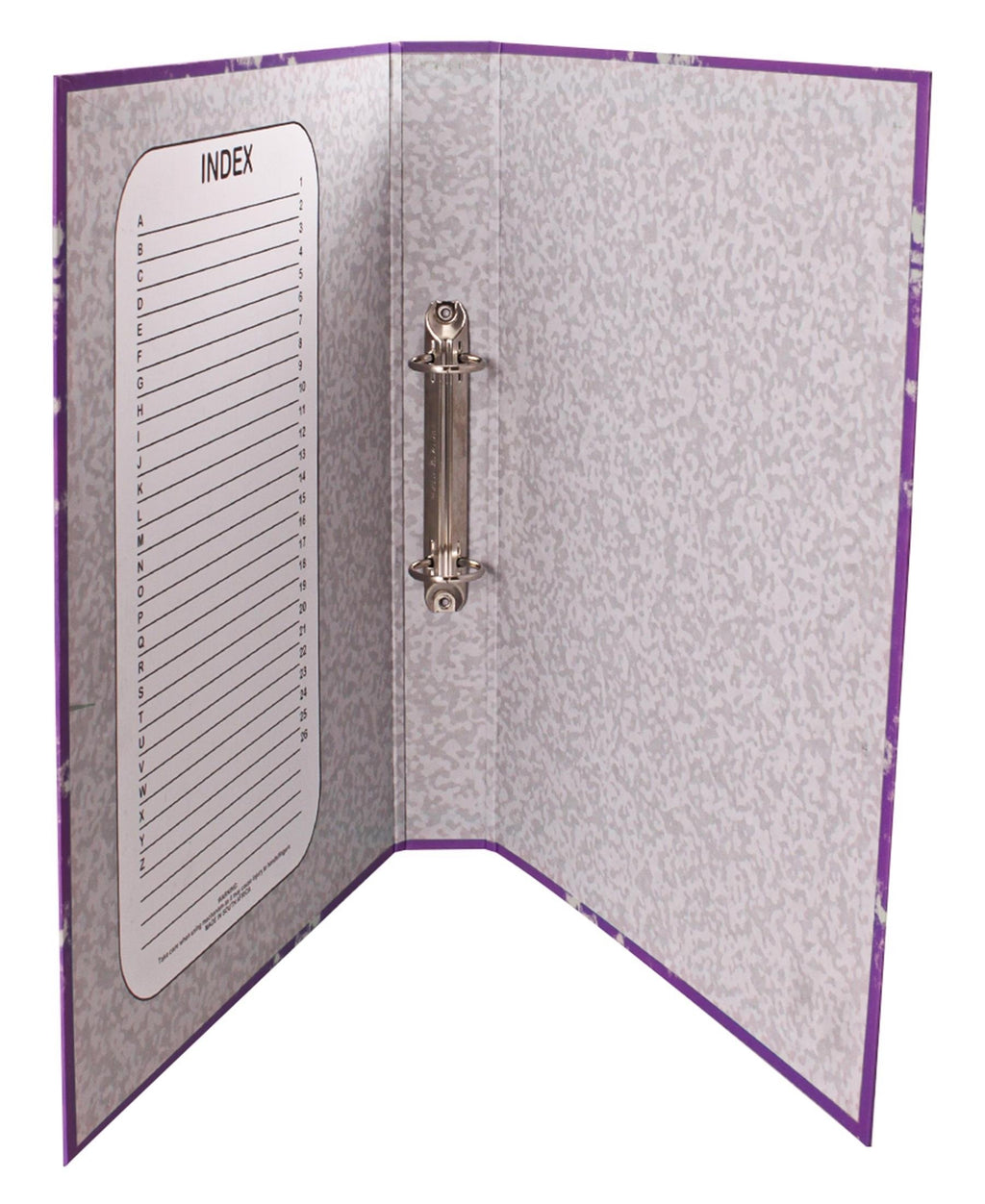 Marlin Ring Binder File - Purple