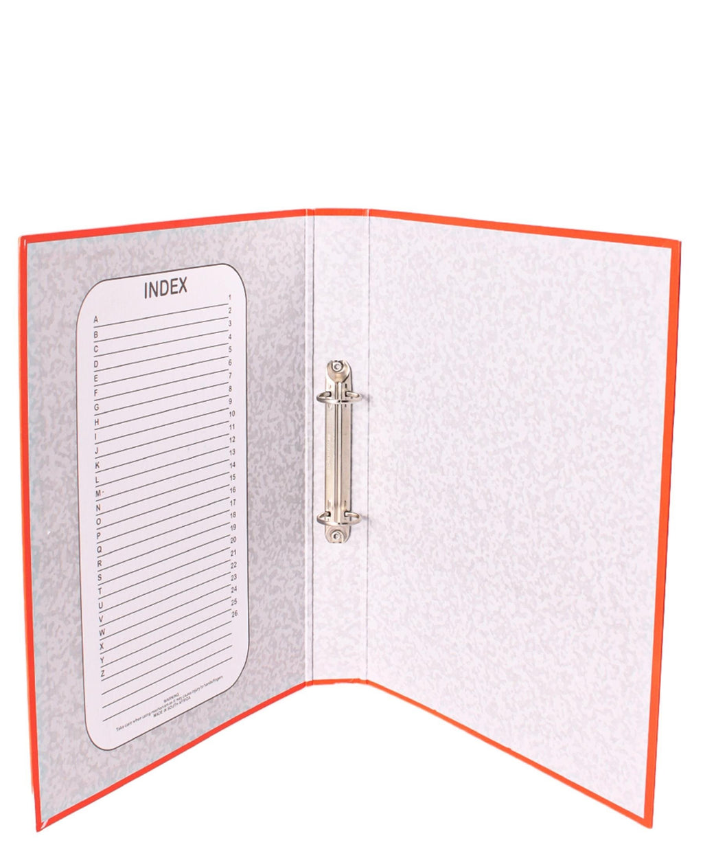 Marlin Ring Binder File - Orange