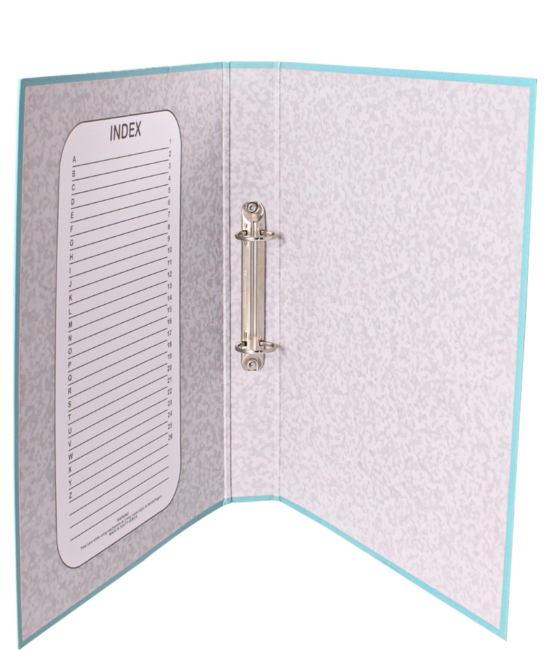 Marlin Ring Binder File - Turquoise