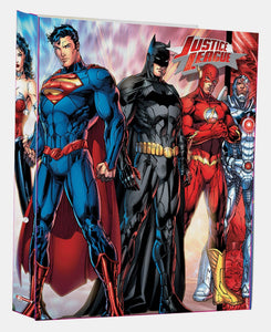 Justice League Ringbinders - Red