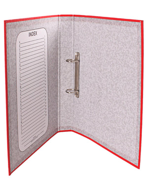 Marlin PVC Ring Binder File  - Red