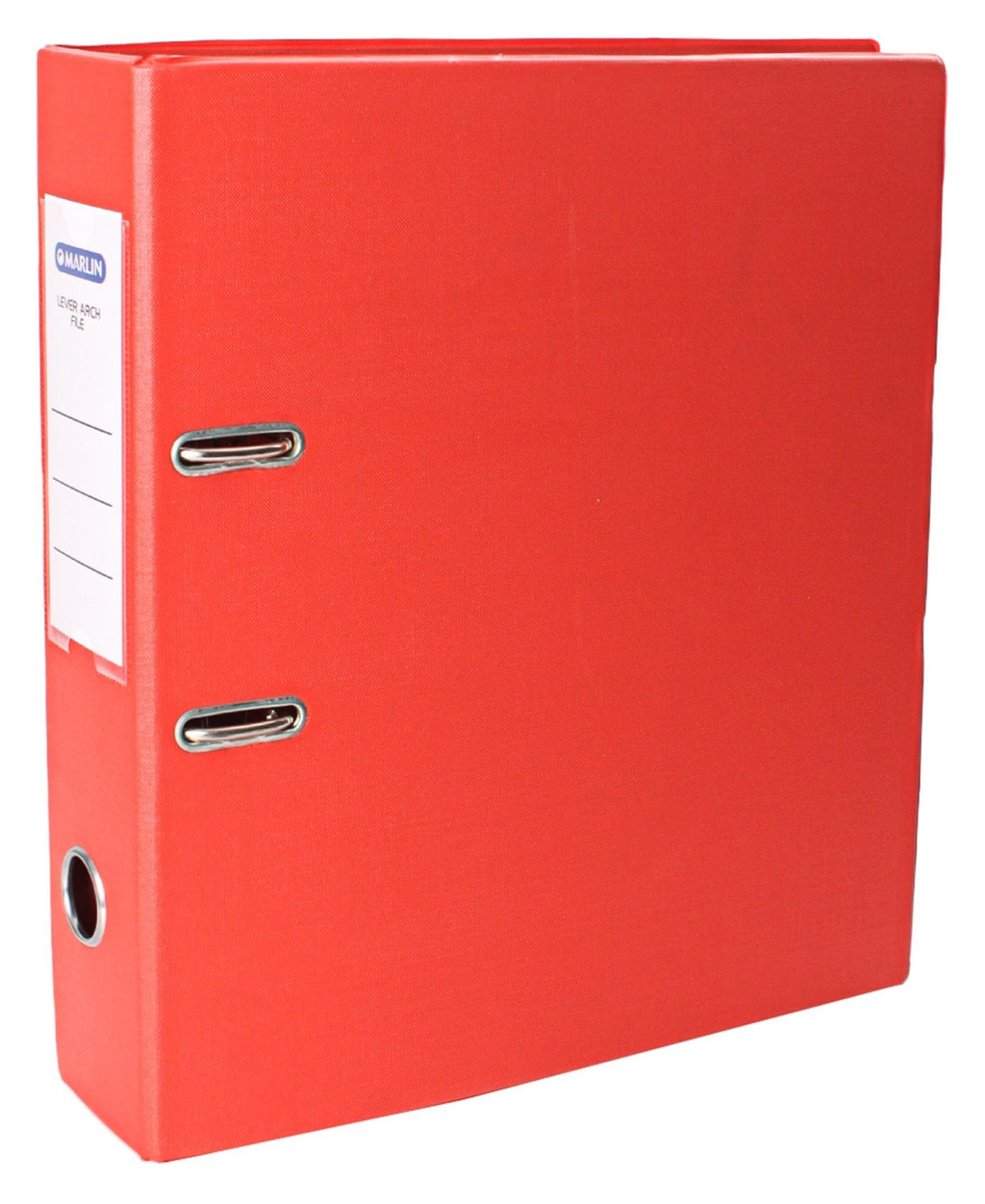 Marlin PVC Lever Arch File - Orange