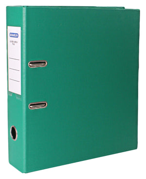 Marlin PVC Lever Arch File - Green