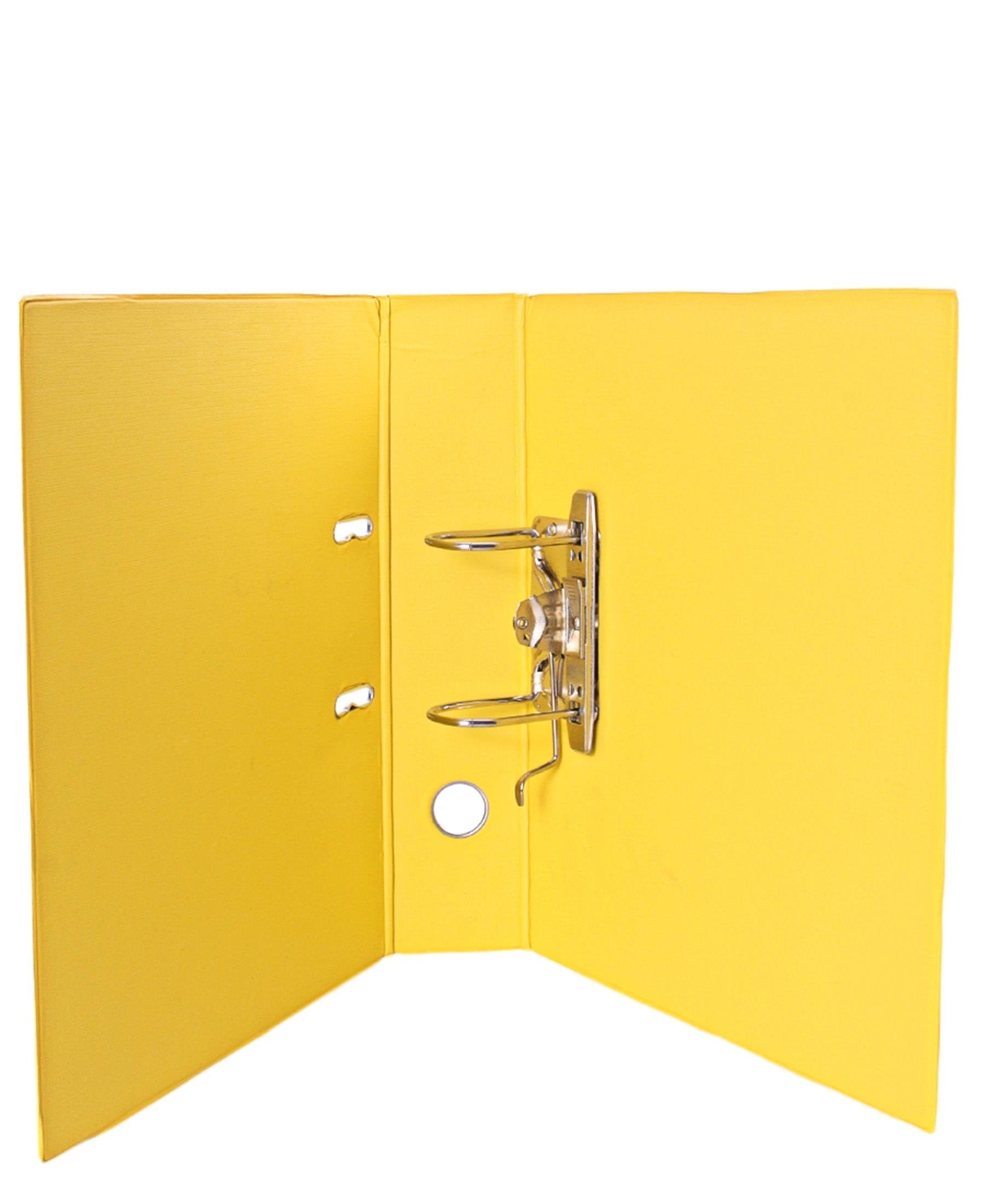 Marlin PVC Lever Arch File - Yellow