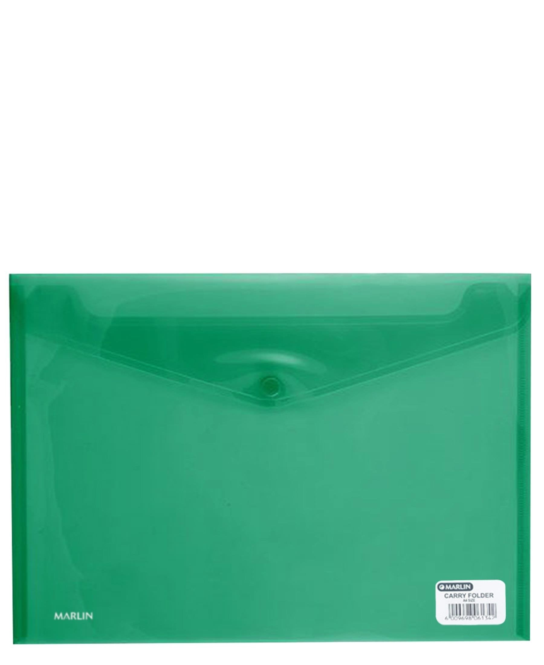 Marlin A4 Carry Folder - Green