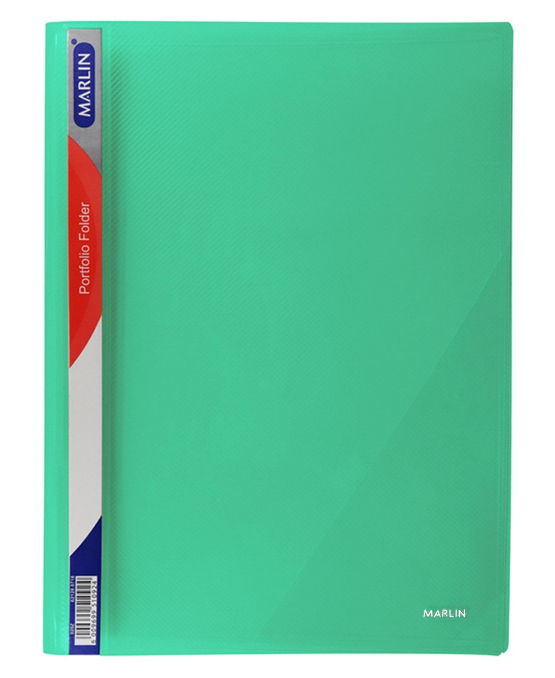 Marlin Portfolio Folder - Green