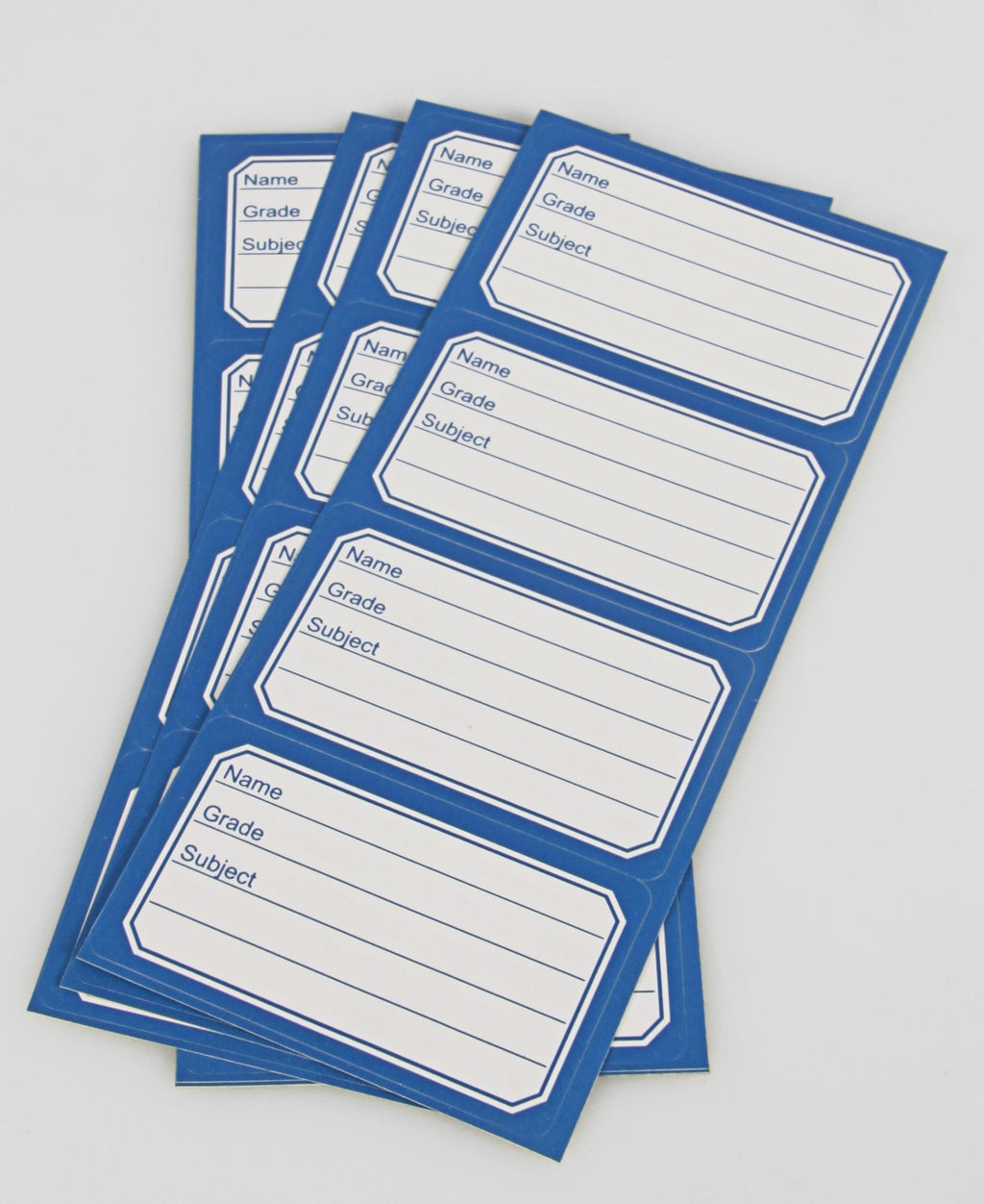 Marlin 24'S Book Labels - White