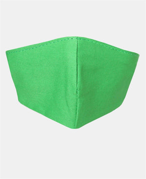 3 Pack Cotton Masks - Green