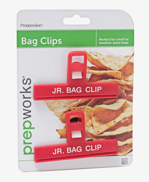 2 Set Bag Clips - Red
