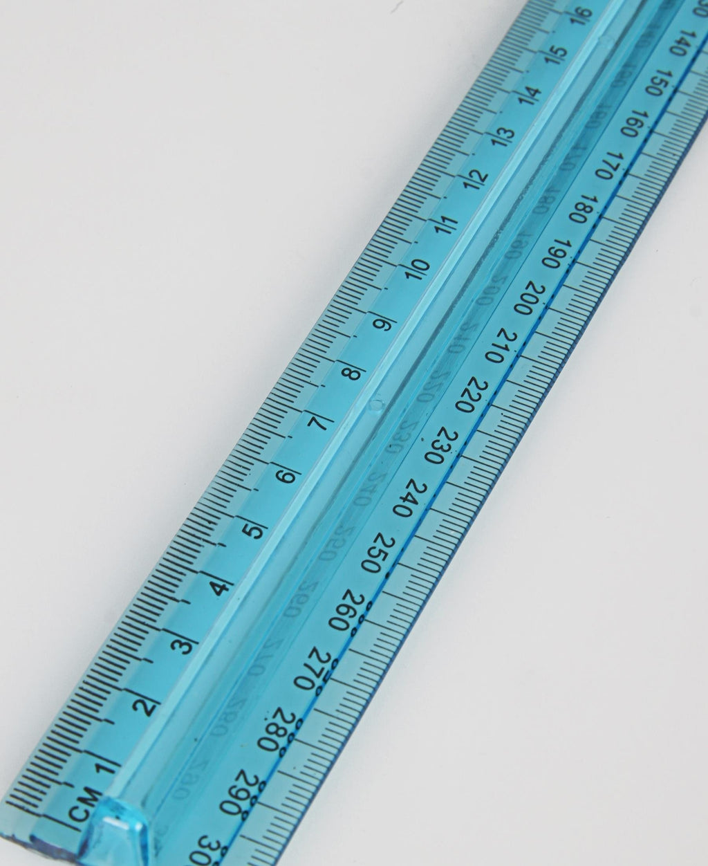 Marlin Finger Grip Ruler - Blue