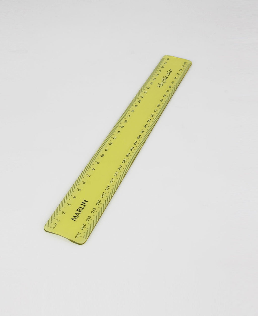 Marlin Flexible Ruler - Yellow