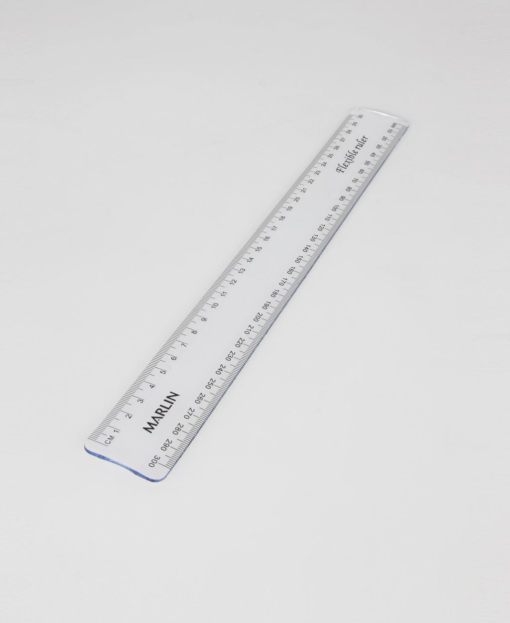 Marlin Flexible Ruler - Clear