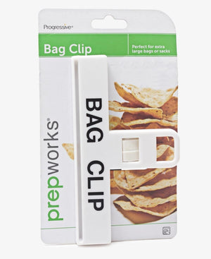 Large Bag Clip - White